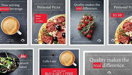 Foodservice Rebranding