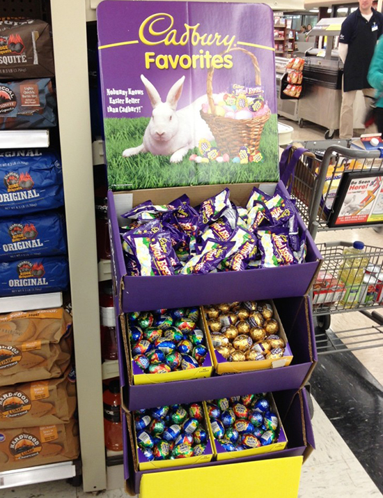Cadbury Creme Eggs Least Favorite Candy