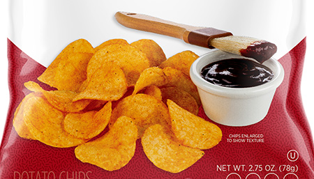 Private Brand Potato Chip Photo Shoot