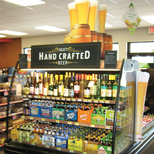 Tom Thumb Craft Beer POP Signage
