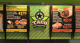 Appealing Menu Boards Drive Sales