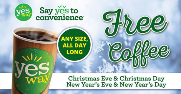 YesWay Holiday Promotion